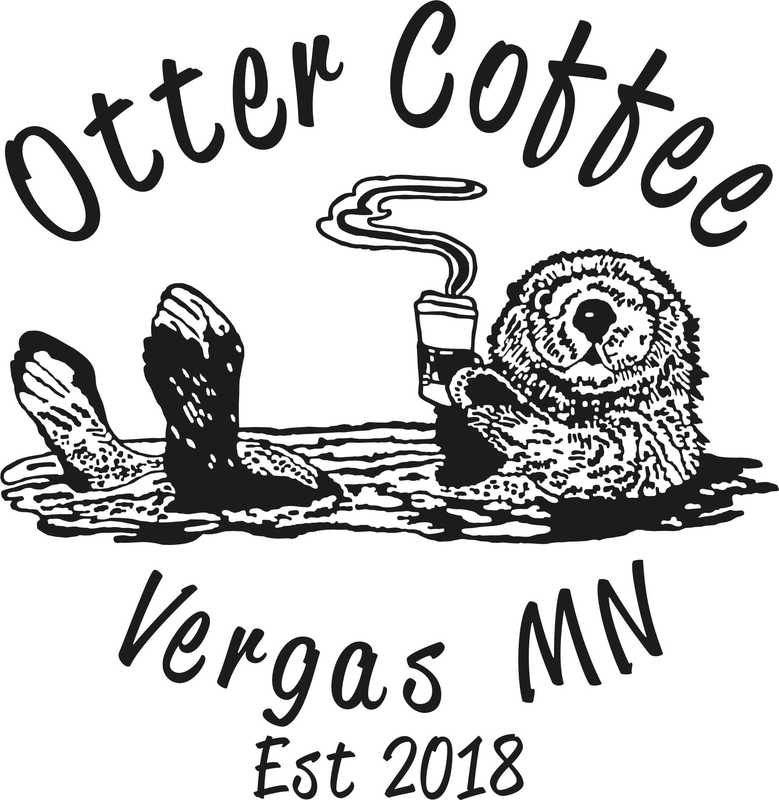 Otter Coffee and Ice Cream Logo | City of Vergas Business Directory