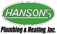 Hanson's Plumbing & Heating Logo | City of Vergas Business Directory