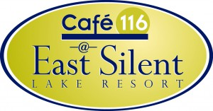 Cafe 116 at East Silent Lake Resort Logo | City of Vergas Business Directory